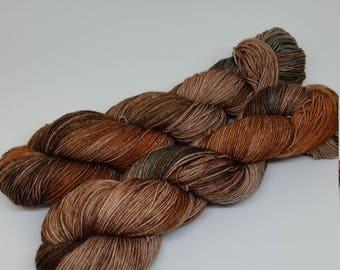Sandalwood - Platinum Sock Yarn - Superwash Merino + Nylon - 75/25 - Ready to Ship