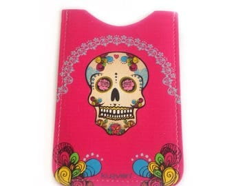 Mexican style leather phone case