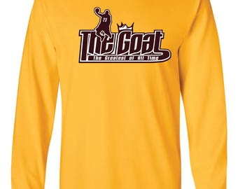 GOAT Lebron James Long-Sleeved Shirt