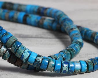 6mm navy blue rondelle faceted jasper beads,1 strand approx 38 cm ( approx 15 inch- approx 120 Pcs)
