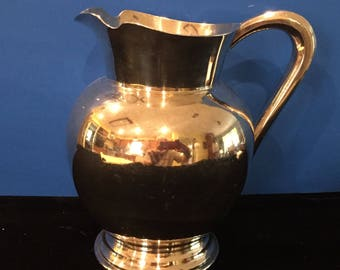 Reed & Barton Silver Pitcher