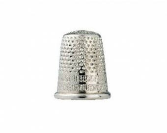 Thimble silver steel 16 mm