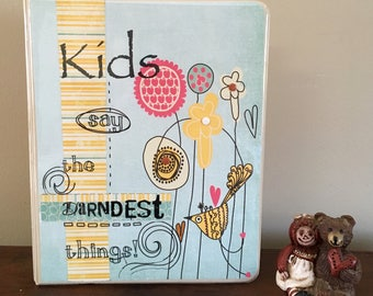 Kids say the dardest things album