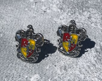 Gryffindor cufflinks, Harry Potter cufflinks, harry potter gifts, harry potter jewellery, Gryffindor gifts, Gryffindor jewellery