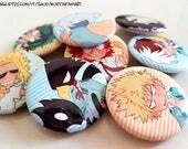 BNHA Pin sets - badges