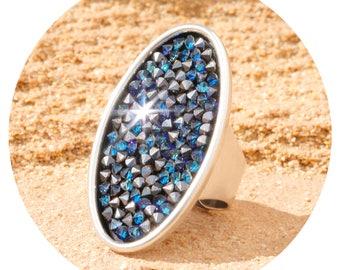 artjany ring bermuda blue