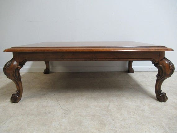 Ralph Lauren Paw Foot Rustic Center Coffee Table