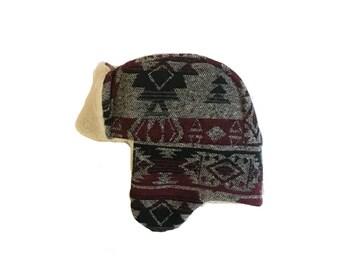 That 70s Aztec Bonnet / Trapper Hat
