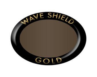 WaveShield 2000 Cellphone Anti-Radiation Protection Shield - Gold Regular