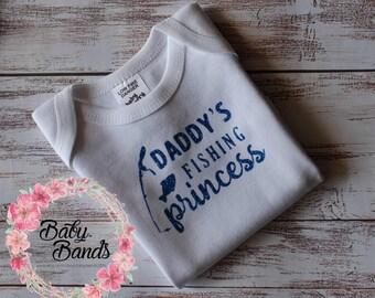 Daddy's Fishing Princess top/onesie
