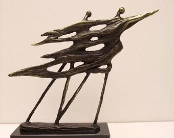 .sculpture bronze height 22 cm