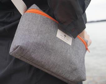 White Pine Bags slate shoulder bag/fanny pack