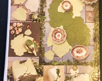 Vogue Craft Sewing Pattern 7491 777 Leaf Table Top Accessories Placemats Napkins Coasters Table Runner Bread Basket  Fall Wedding Uncut