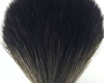 24MM Black synthetic shave knot.. the boss..