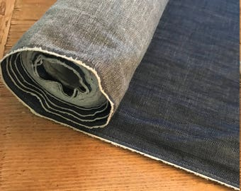 Light Weight Candiani Indigo Denim Chambray by the Yard