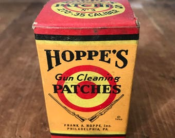Vintage Hoppe's Gun Cleaning Patches