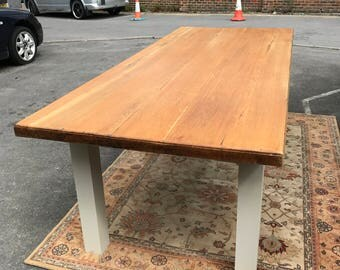 Stunning Antique 8ft Oak Table