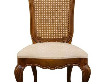 THOMASVILLE Country French Collection Cane Back Side Chair 22621-861