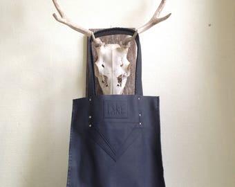 Handmade real leather shoulderbag