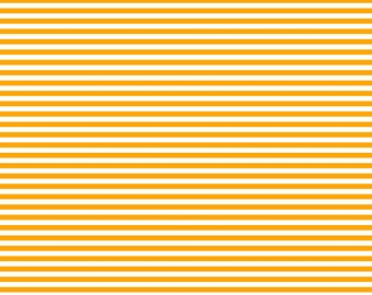 Thin Horizontal or Thin Vertical Orange Lined Cardstock Paper