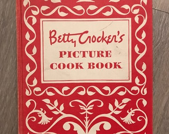 Brand New Vintage Antique Betty Crocker Picture Cookbook First Edition 1950