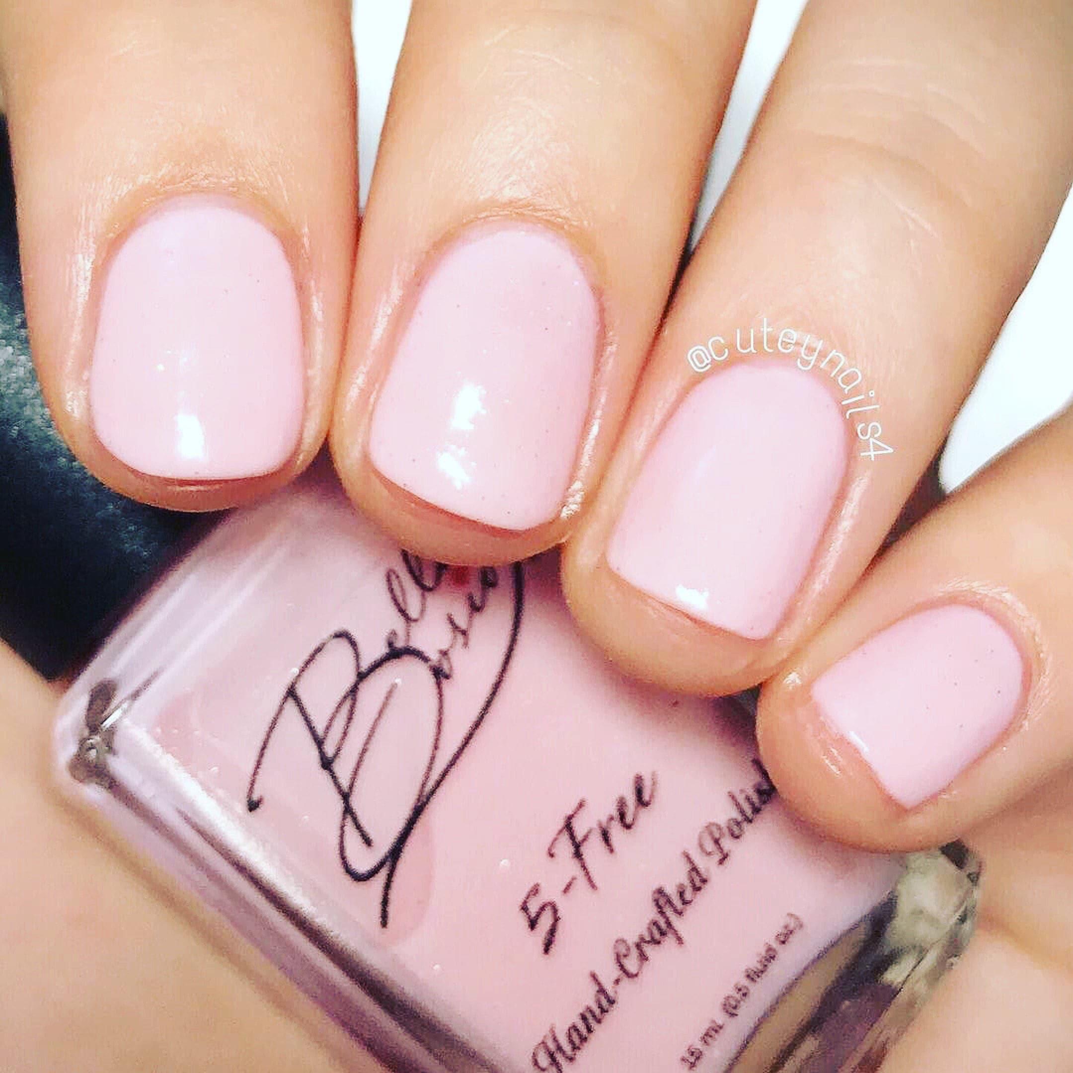 Sheer Pink Opi Nail Polish: Sheer Class Sheer Pink Nail Polish With Micro Glitters