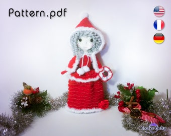 Pattern - Noëlle, Santa Girl