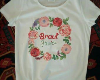 Tshirt hen T shirt, JGA T-Shirt, bachelorette party, rehearsal dinner, bridal shower T-Shirt, bride T-Shirt