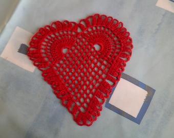 red heart crochet cotton