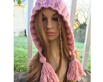 Knit Elf Hat Etsy