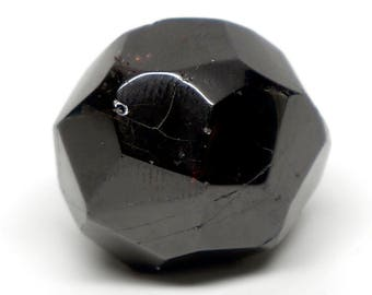Polished Red Garnet Crystal