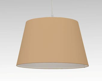Lampshade sand individual size and colour