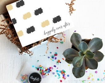 Mini Happily Ever After Gift Box - Congratulations Gift | Wedding Gift| Celebration Gift | Bridal Shower Gift | Wedding Card