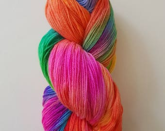 ELISE. the brush-dyed wool skein
