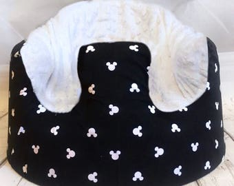 Mickey Mouse Black and White Bumbo Seat Cover