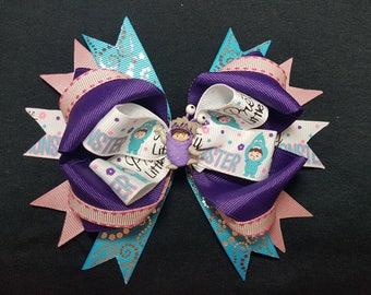 Monsters Inc Boo Bow