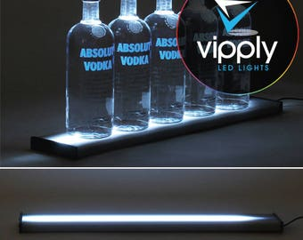 "24""  LED Bar Shelf, Bottle Display, Light Shelf, Display Shelf, Liquor Bottle Shelving"