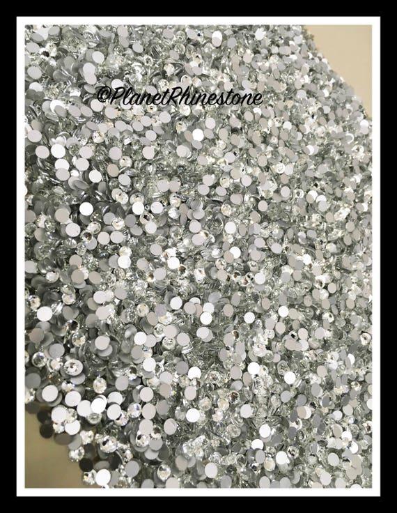 SS20 - Clear - 100GR (14,400 PCS) Loose Glass Egyptian Rhinestones #L002 WHOLESALE