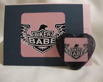 biker babe card, biker babe magnet, biker babe decor, biker babe home decor, biker card, biker magnet, biker decor, biker home decor ( 621 )