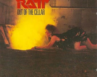 Summer Sale RATT - Out of the Cellar Album Cover Art Print Poster 12 x 12