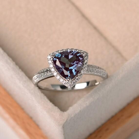 like this item - Alexandrite Wedding Ring