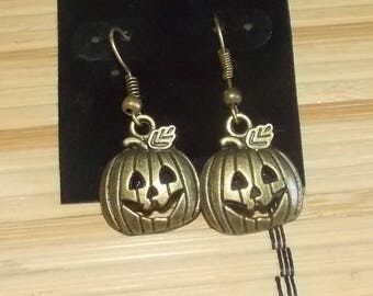 Jack-O-Lantern Earrings FREE SHIPPING!