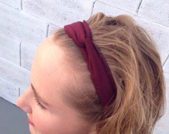 Top Knot Headband- Headbands - Comfortable Headbands - Stretchy Headband - Headbands for Women - Headbands for Girls - Cute Headbands