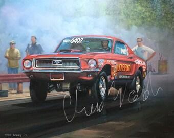 68 Mustang, FE Fanatics, Super Stock