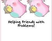 Support Sprinkles || Planner Stickers, Cute Stickers for Erin Condren (ECLP), Filofax, Kikki K, Etc. || STB62
