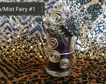 Pinon And Mist Adorned Fairy Art Bottles