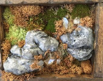 Moss Wall Art Sculpture