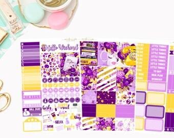 Lets Make Plans Mini Kit, planner stickers