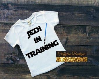 Disney Star Wars Inspired Jedi in Training shirt