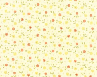 Moda REFRESH Quilt Fabric 1/2 Yard By Sandy Gervais - Cloud 17866 16